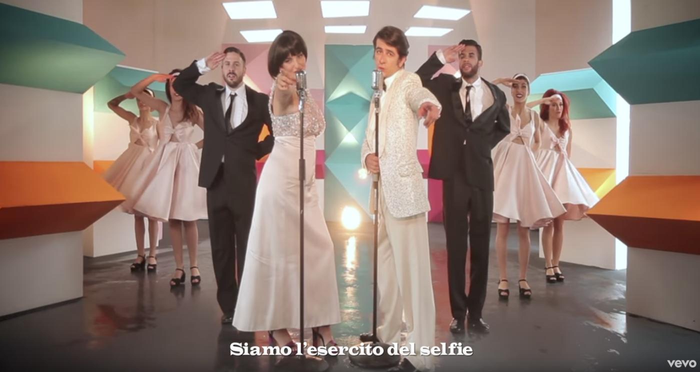 migliori look dei video musicali italiani