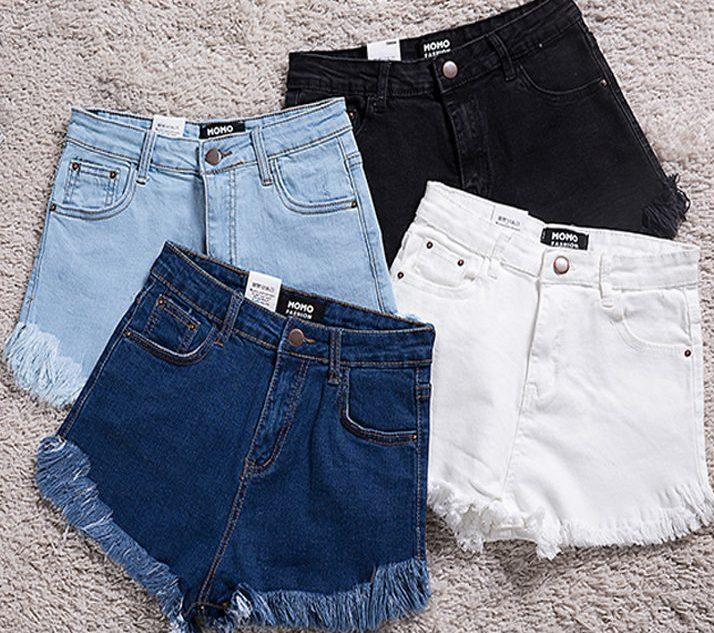 shorts in jeans a vita alta 2016