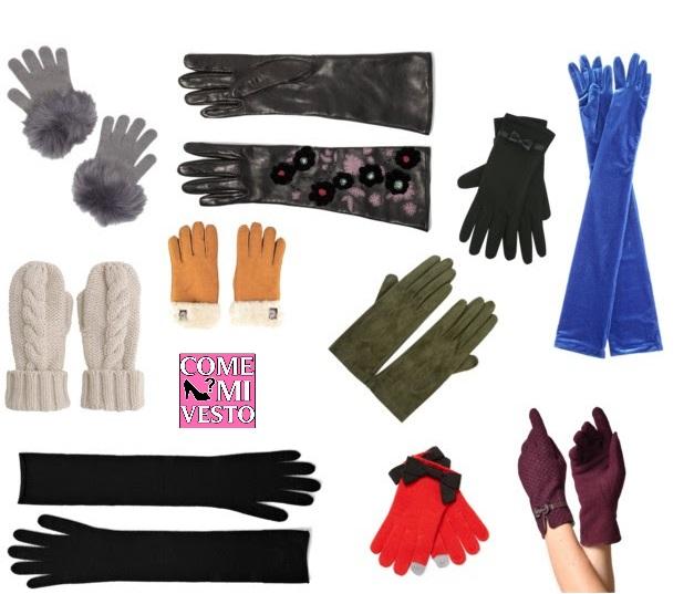 guanti da donna