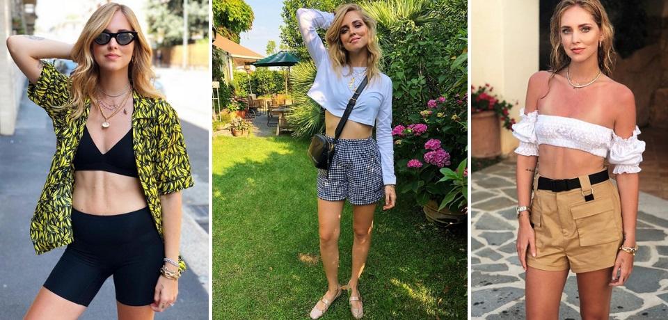 pantaloncini a vita alta shorts tendenze moda