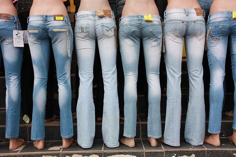 scegliere i jeans donna